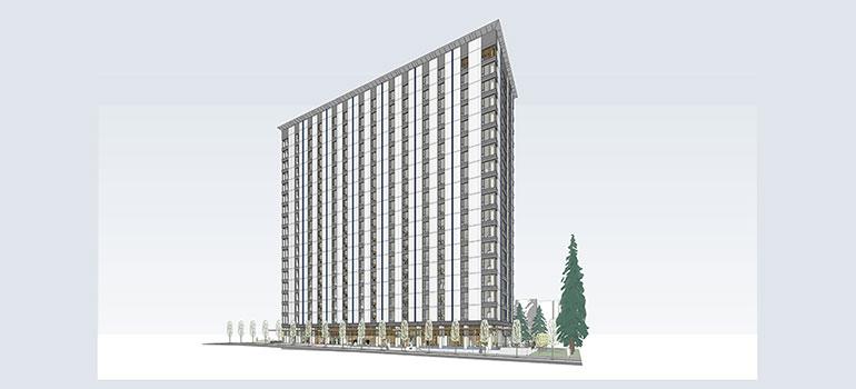 UBC Student Housing Building