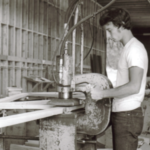 Pacific Truss History Production Line