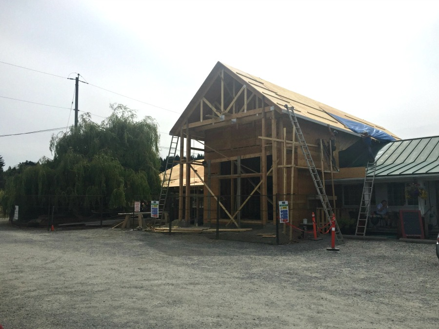Pacific Truss - The Roost North Saanich Construction